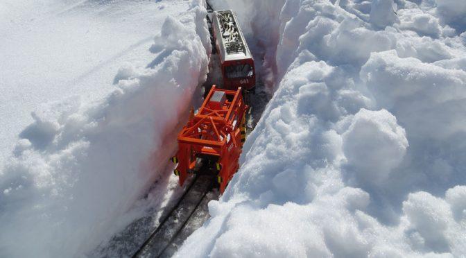 Auch bei viel Schnee