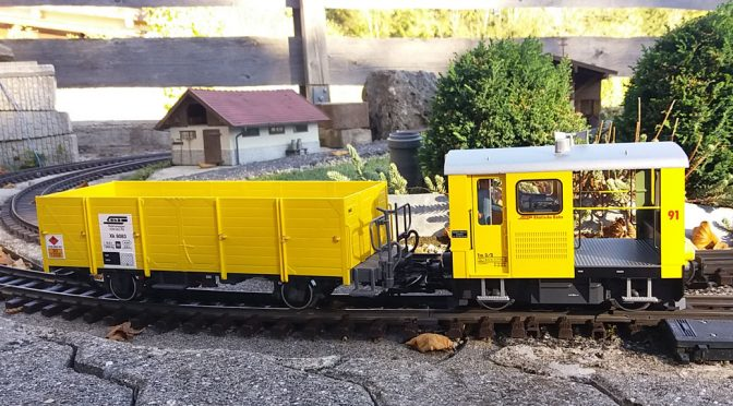 RhB-Traktor Tm 2/2 91 – Stromaufnahme optimieren