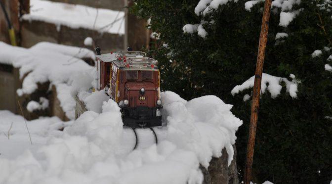 Winterfreude trotz Baustelle